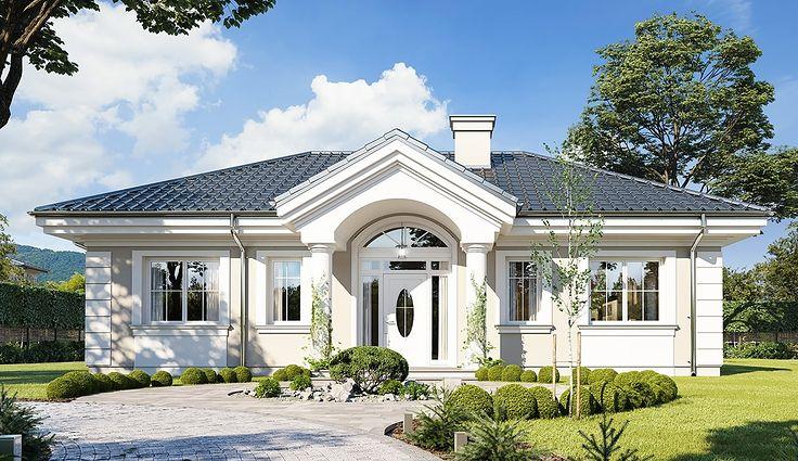 Projekt domu Dom na Dębowej 93,43 m² - koszt budowy - EXTRADOM