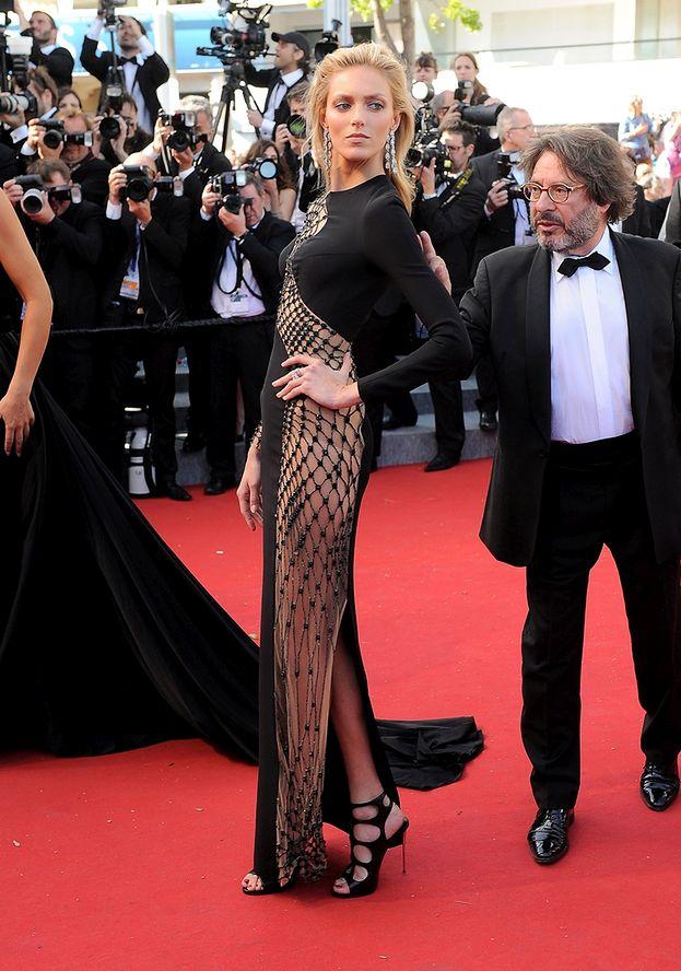Anja Rubik Na Czerwonym Dywanie W Cannes Zdjęcia Pudelek