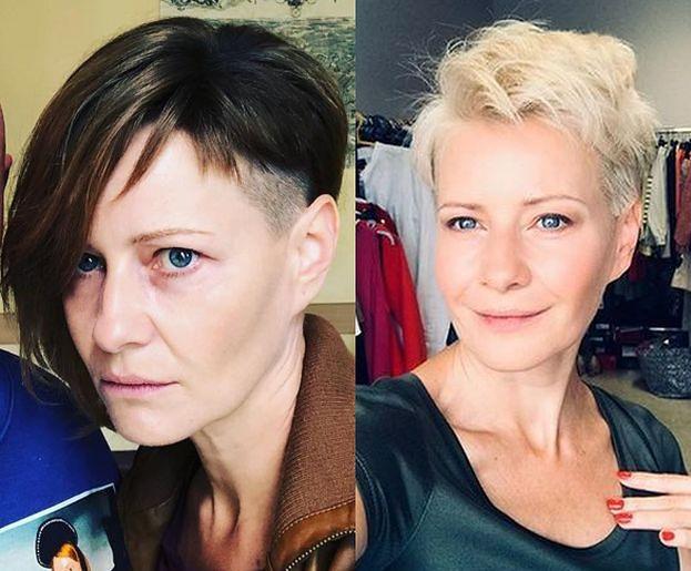 Kożuchowska Wygoliła Włosy To Wszystko Dla Vegi Foto Pudelek