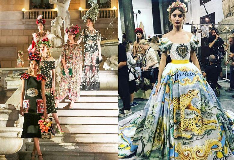 2Pokaz Dolce&Gabbana na Sycylii