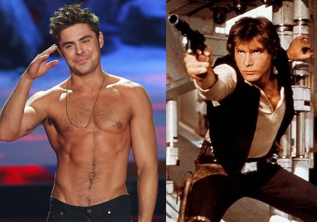 """Zac Efron zagra... Hana Solo w """"Gwiezdnych Wojnach""""?!"""