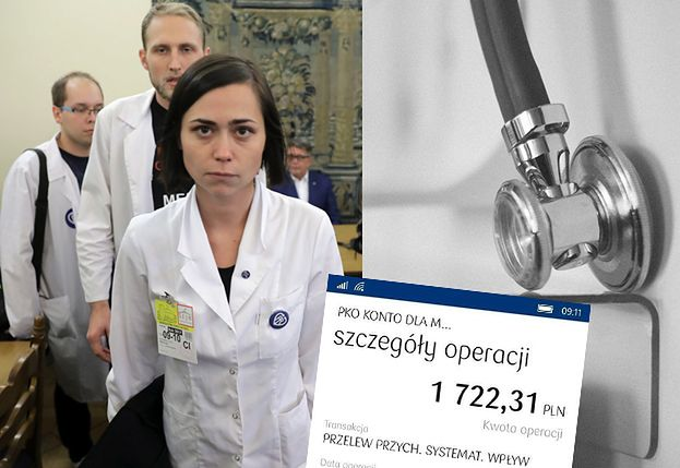 """Lekarka-rezydentka ujawnia swoje zarobki: """"Państwo Polskie wycenia Ciebie, Twoje dziecko i Twojego ojca na DWA I PÓŁ ZŁOTEGO!"""""""