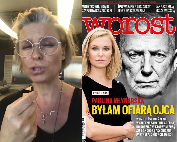 """Paulina Młynarska burzy się na """"Wprost"""": """"Nie robi się takich rzeczy, OKROPNE"""""""