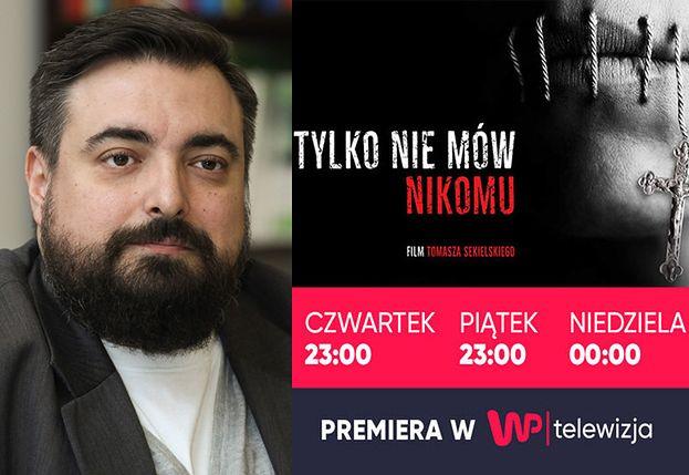 Telewizja WP wyemituje film Sekielskiego o pedofilii w Kościele