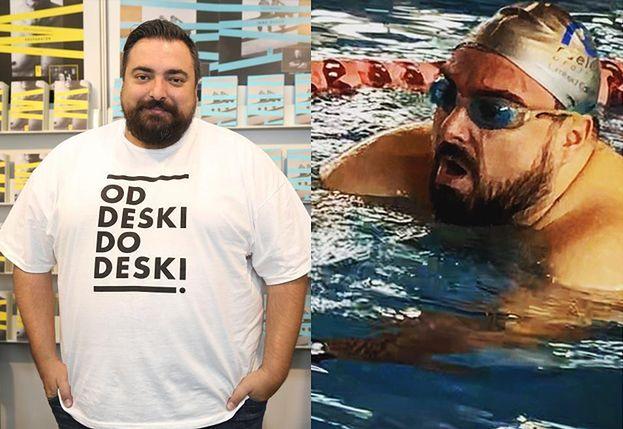 """Tomasz Sekielski relacjonuje walkę z nadwagą: """"Czuję różnicę, zacząłem się sprawniej ruszać"""""""