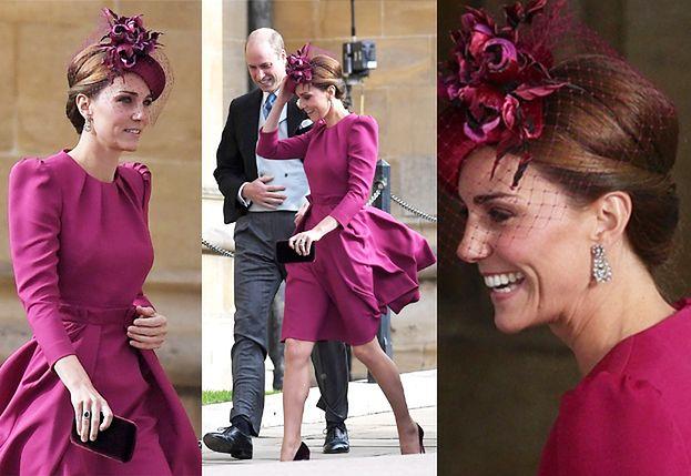 Zjawiskowa księżna Kate zadaje szyku na ślubie księżniczki Eugenii (ZDJĘCIA)