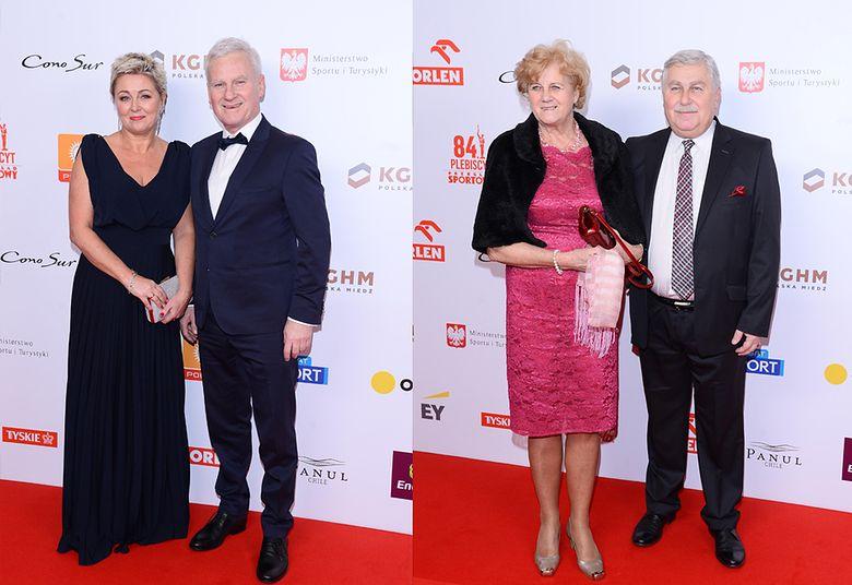 2Michał Listkiewicz i Jerzy Engel z żonami