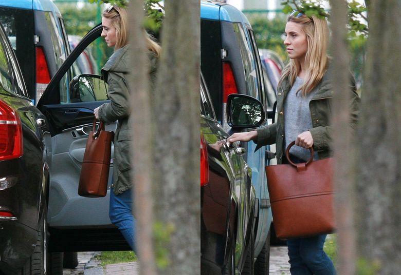 ce78b2898ccf0 Młodzieńcza Kasia Tusk przyjechała w odwiedziny do rodziców autem za ...