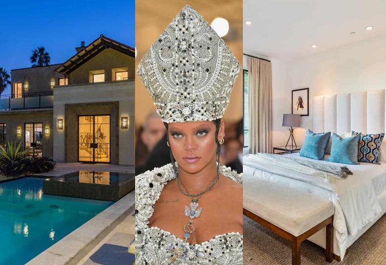 2Rihanna sprzedaje dom za PONAD 28 MILIONÓW! Mieszkała w nim... półtora roku (ZDJĘCIA)