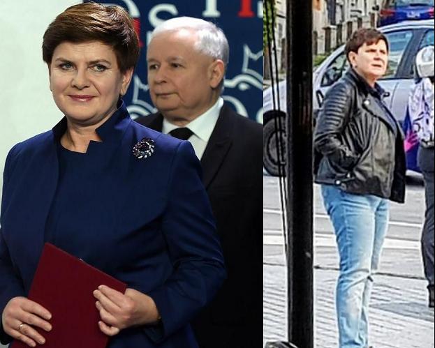 """Beata Szydło na konwencji PiS uspokaja: """"BROSZKA SIĘ ODNALAZŁA, jest tutaj. Kiedy oni szukają broszki, my realizujemy program dla Polski"""""""