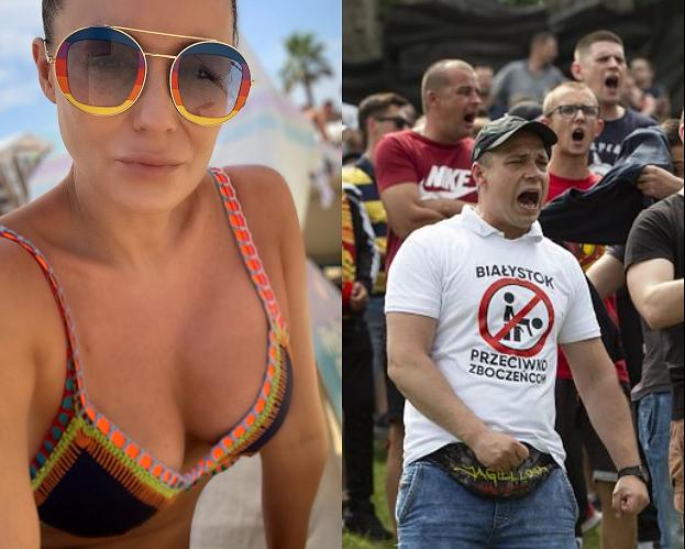"""Tęczowa Małgorzata Rozenek odpowiada internaucie: """"Wolałabym syna geja niż homofoba"""""""