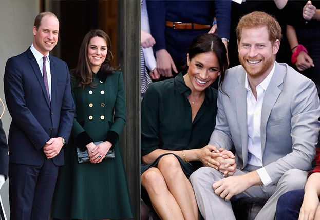 Kate i William nareszcie poznali royal baby Harry'ego i Meghan!