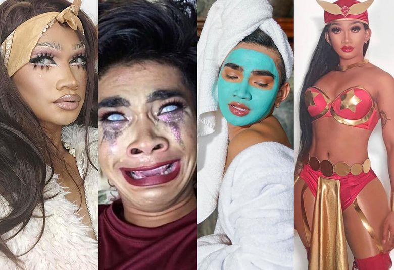 2Popularny komik, ekspert od makijażu i osobowość internetowa: Bretman Rock podbija Instagram