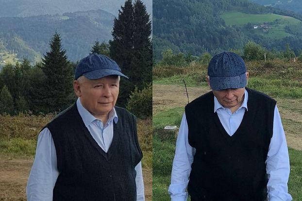 """Czy Kaczyński naprawdę jest w górach? """"TO FOTOMONTAŻ!"""""""