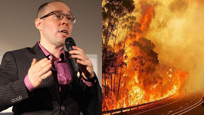 """Marcin Rola wskazuje """"przyczyny"""" pożarów w Australii: """"Najpierw zalegalizowano małżeństwa tej samej płci, potem aborcję…"""""""