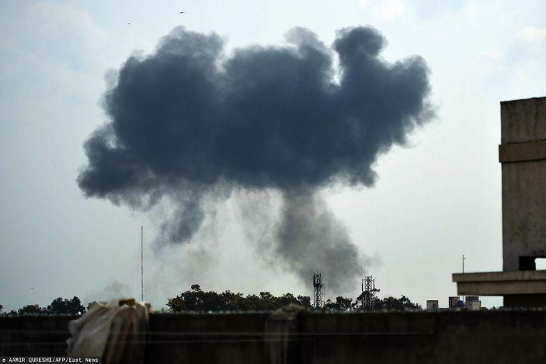 F-16 rozbił się w czasie ćwiczeń w Islamabadzie.