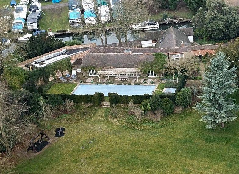 Luksusowa posiadłość w Oxfordshire