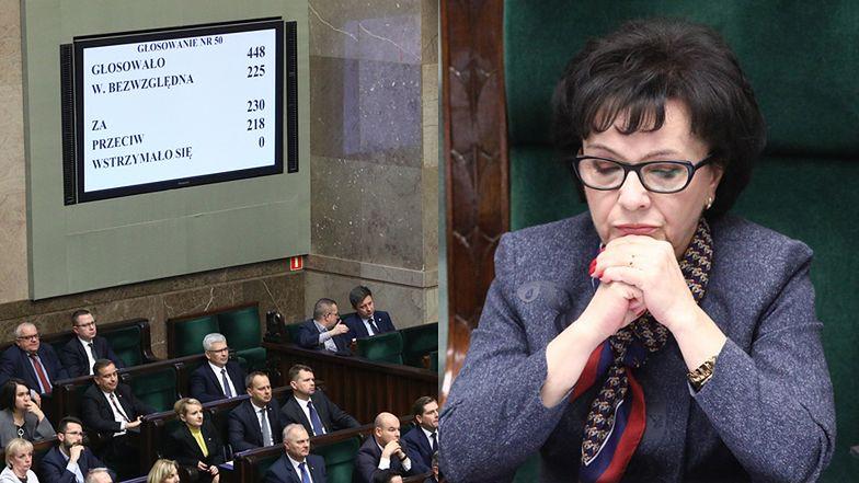 """Skandal w Sejmie: anulowano głosowanie w sprawie członków KRS. Posłanka PiS do marszałek Sejmu: """"Trzeba anulować, BO MY PRZEGRAMY"""""""