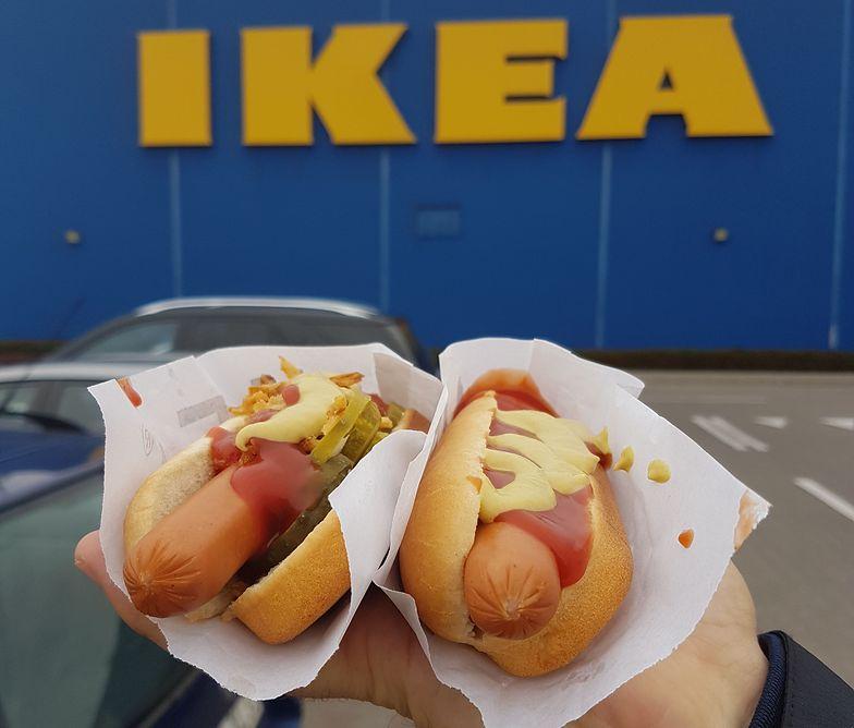 Hot dogi w Ikei