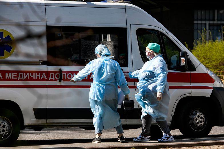 Ukraina. W ciągu doby zmarło 5 osób zakażonych koronawirusem