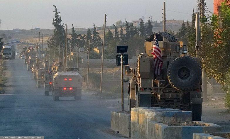 Syria. Amerykańskie wojska nie wrócą do domu. Trafią do Iraku