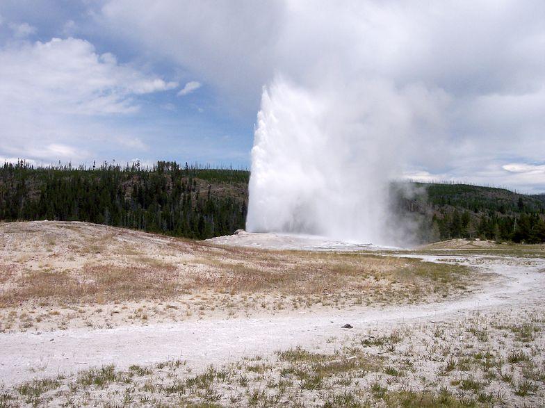 Wpadł do gorących źródeł w Yellowstone. Cudem przeżył