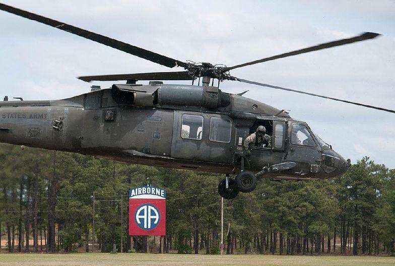 Black Hawk uziemiony po zderzeniu z dronem. Śmigłowiec ochraniał uczestników szczytu ONZ