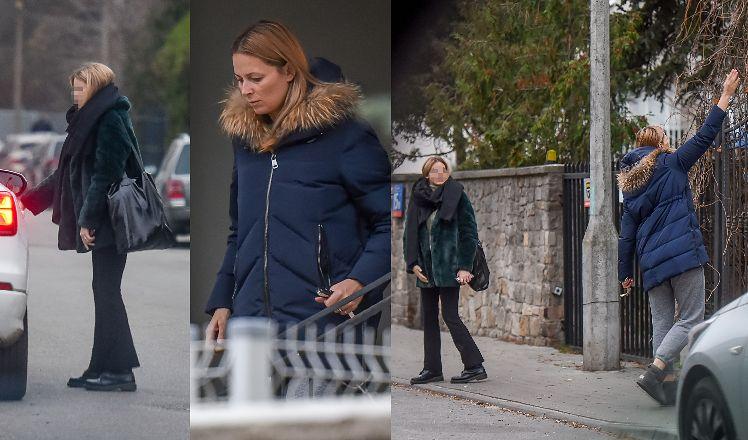 Matka i córka zostały przyłapane przez paparazzi pod rezydencją Moro