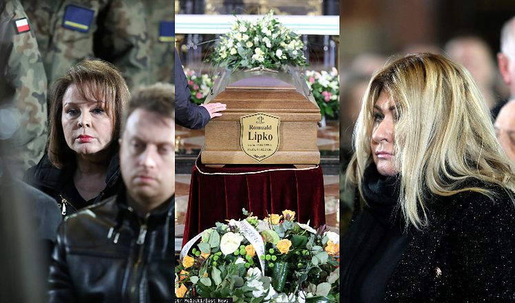 Pogrzeb Romualda Lipki