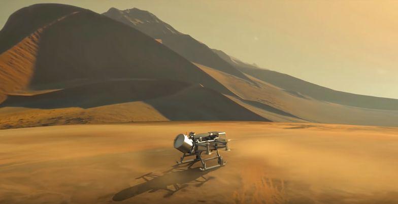 NASA szuka życia na Tytanie. Misja na księżyc Saturna
