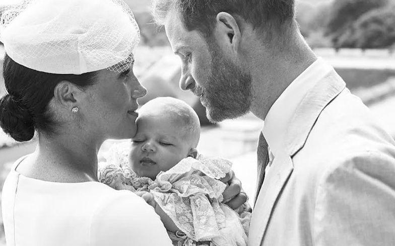 Chrzciny Archiego, synka Meghan i Harry'ego. Jedno z dwóch oficjalnych zdjęć