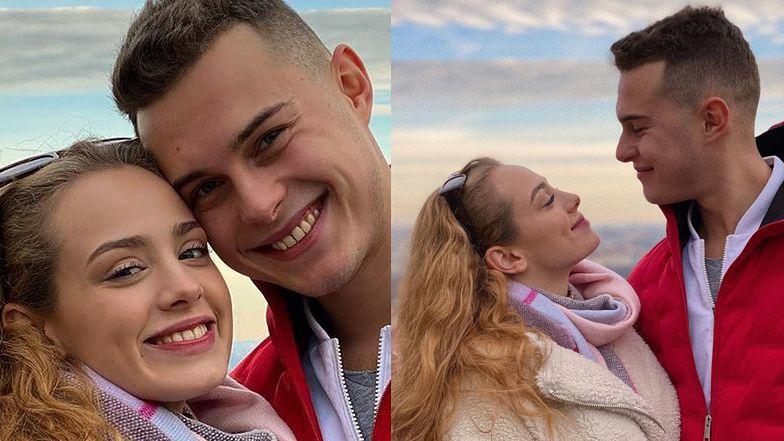 """Adam Zdrójkowski i Wiktoria Gąsiewska uciszają plotki o ROZSTANIU romantyczną sesją w Pradze: """"Takie powroty uwielbiam..."""" (FOTO)"""