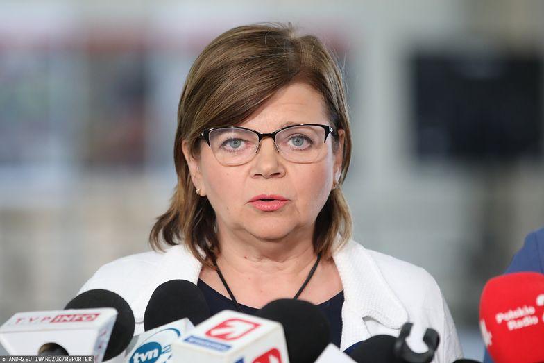 Izabela Leszczyna uważa, że PiS miał jedną ręką zmniejszać podatki, a drugą dokładać nowe daniny.