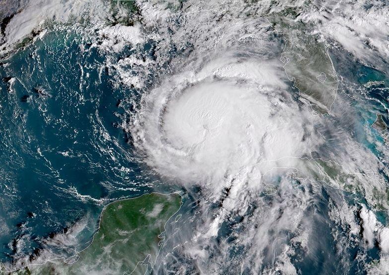 Huragan Michael widać z kosmosu. Jest większy niż cały stan Floryda