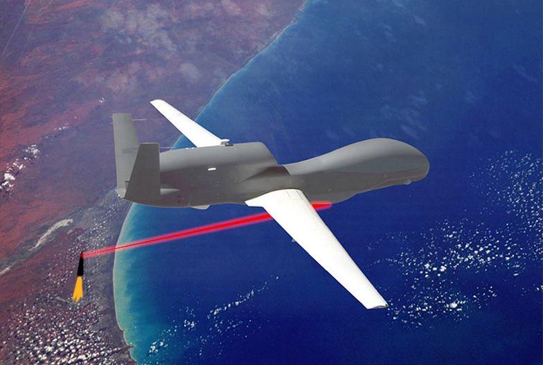USA zamontują lasery na dronach. Będą polować nad Koreą Północną