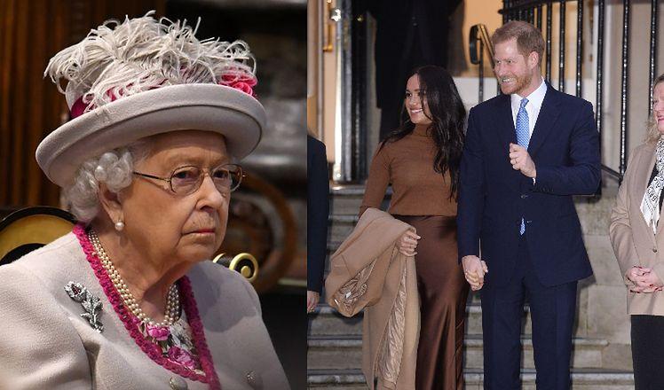 Królowa Elżbieta zwołała SPECJALNE POSIEDZENIE w sprawie Harry'ego i Meghan!