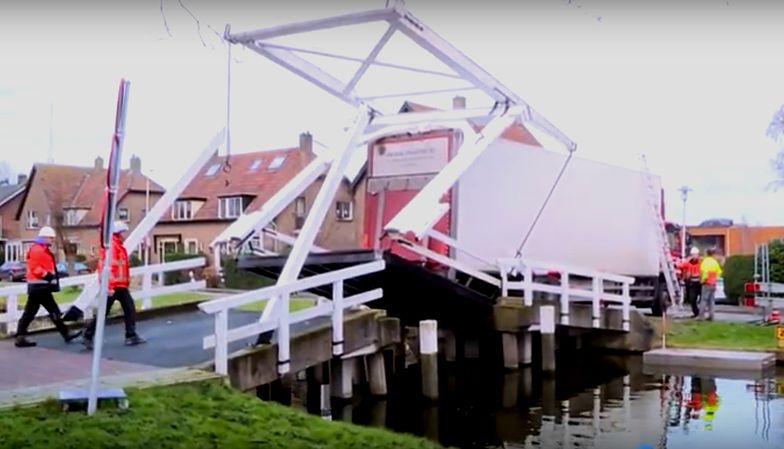 """Polak zniszczył most w Holandii. """"Nawigacja źle mnie pokierowała"""""""