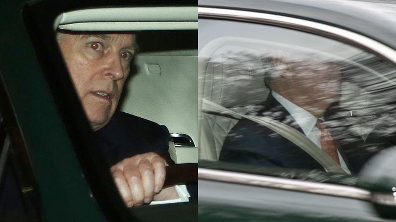 Przerażony książę Andrzej ucieka bentleyem spod Pałacu Buckingham do DUBAJU (FOTO)