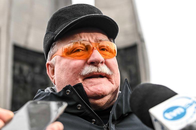 Lech Wałęsa krytykuje PiS