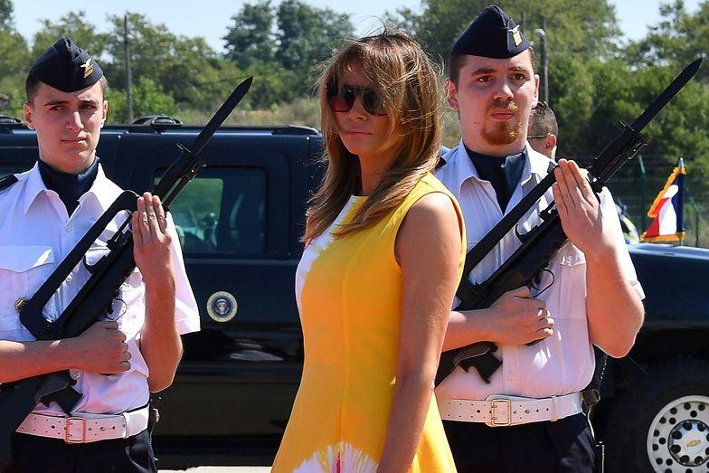 Melania Trump we Francji