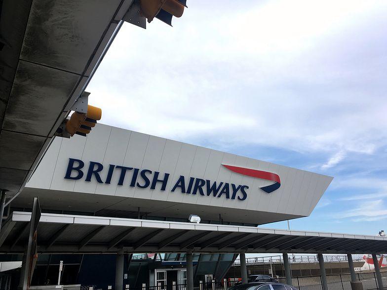 British Airways zawiesił sprzedaż biletów do Chin - na razie do końca lutego