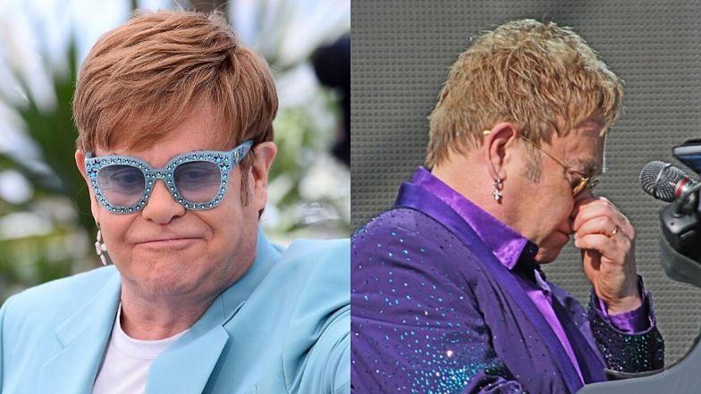 Elton John wyznał, że zmagał się z rakiem prostaty.