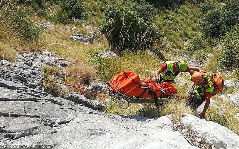 Szukali go 10 dni. Ciało turysty znalezione we włoskim wąwozie