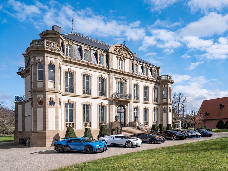 Najdroższa kolekcja aut Bugatti