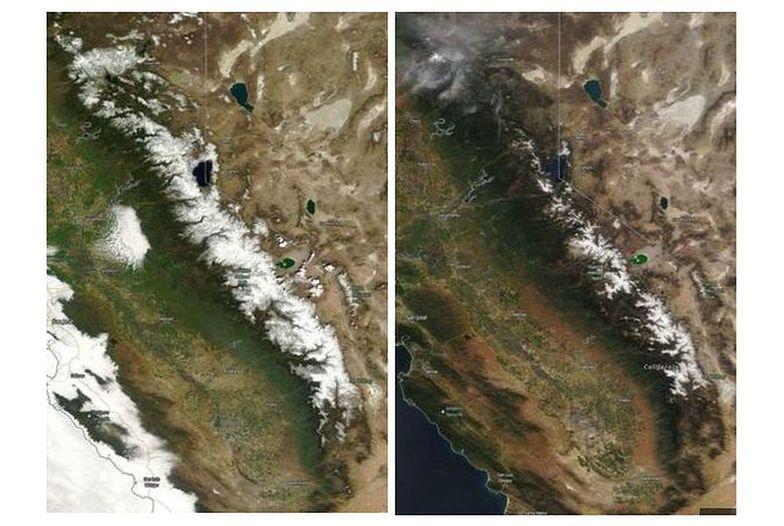 """""""Zima się kurczy"""". Naukowcy pokazali zdjęcia NASA"""