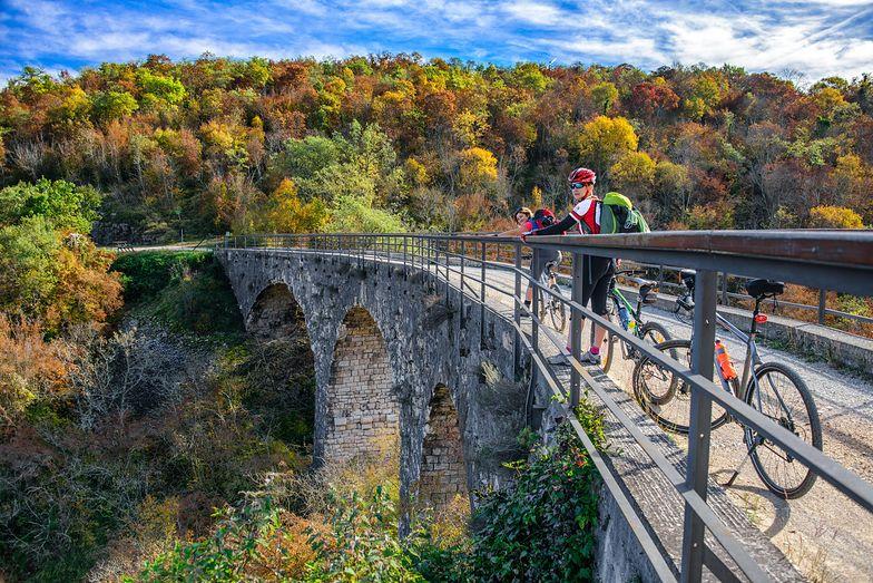 Chorwacja na rowerach. Jesień na dwóch kółkach. Trasy. Atrakcje. Co warto zobaczyć