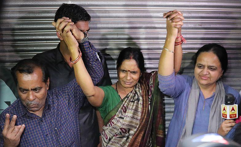Rodzina ofiary świętuje egzekucję morderców