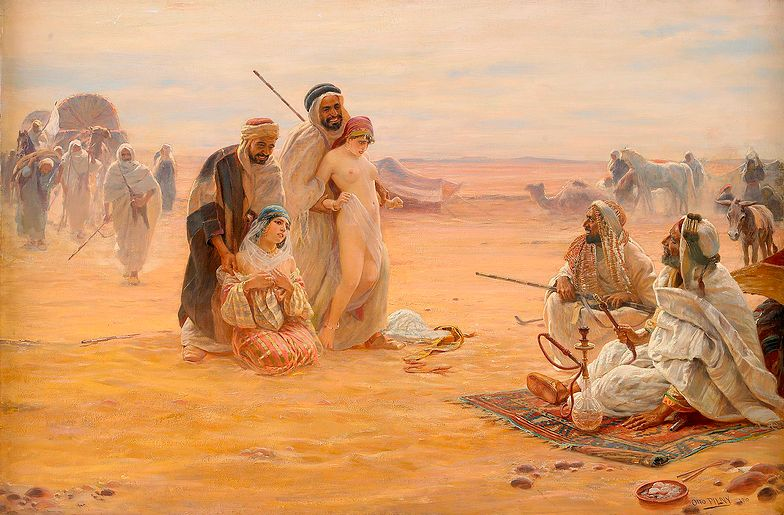 W X i początkach XI wieku słowiańscy niewolnicy szerokim strumieniem płynęli na Bliski Wschód i do Kalifatu Kordoby.
