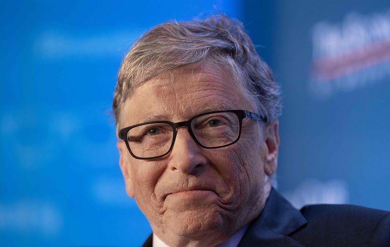 Bill Gates tajemniczym Świętym Mikołajem. Prezent od niego ważył 36 kg