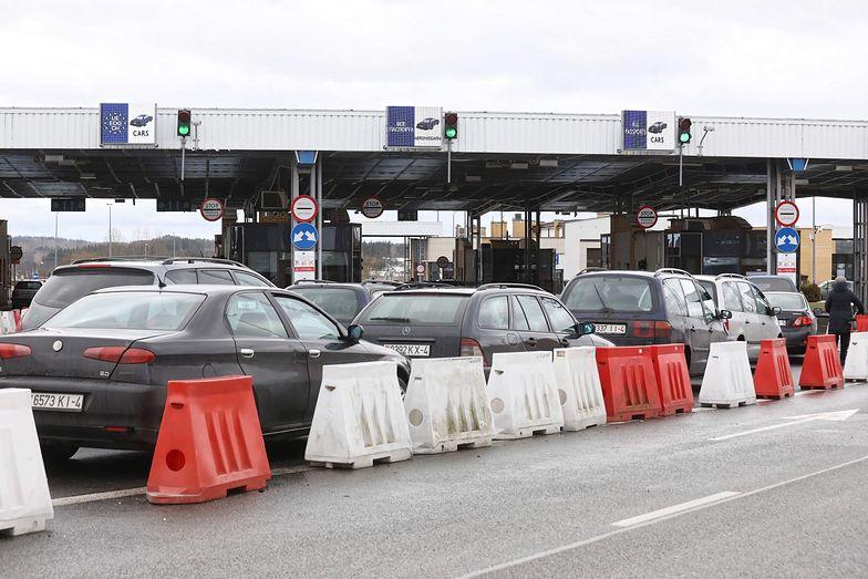Przejście graniczne w Kuźnicy Białostockiej.
